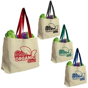 The Natural - 8 oz. Cotton Canvas Tote Bag