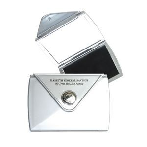 Clearance Item! Pocket Case w/Magnifying & Flat Mirror