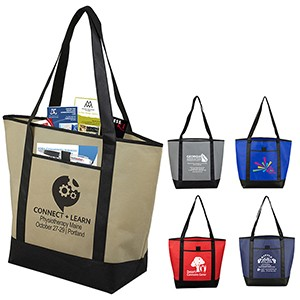 """The City Life"" Beach, Corporate & Travel Boat Tote Bag"