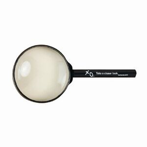 High Quality Glass Magnifier w/Plastic Handle